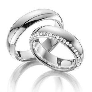 Diamond Wedding Bands | Fine Jewellery made in Antwerp Belgium | Diamanten Trouwringen | Trouw Ring | Special Wedding Bands Antwerp | Classic Wedding Rings | Trouwring met Diamant | Belgische Modellen TrouwRingen