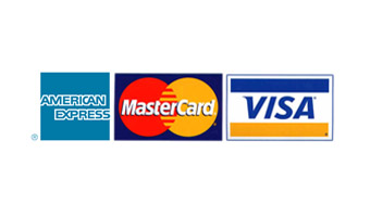 We accept Visa MasterCard American Express JCB and all other types of Payments