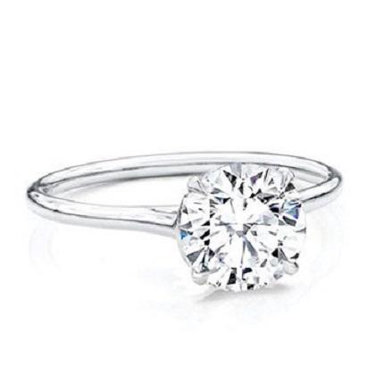 Diamanten verlovingsring Classico Cut Solitaire