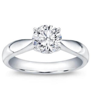 Tapered Solitaire Engagement Ring Classic Simple Beautiful Best Seller Diamond Ring Diamanten Ring Beste