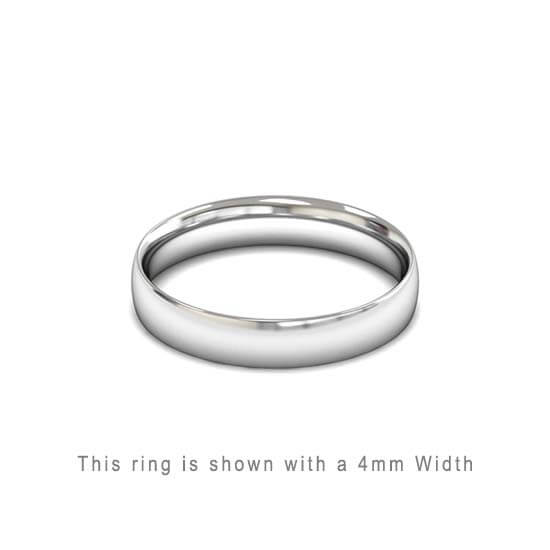 classic dome rings tungsten and with wedding finish polished band slight fit comfort mm p