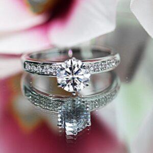 Diamanten trouwring Antwerpen op maat