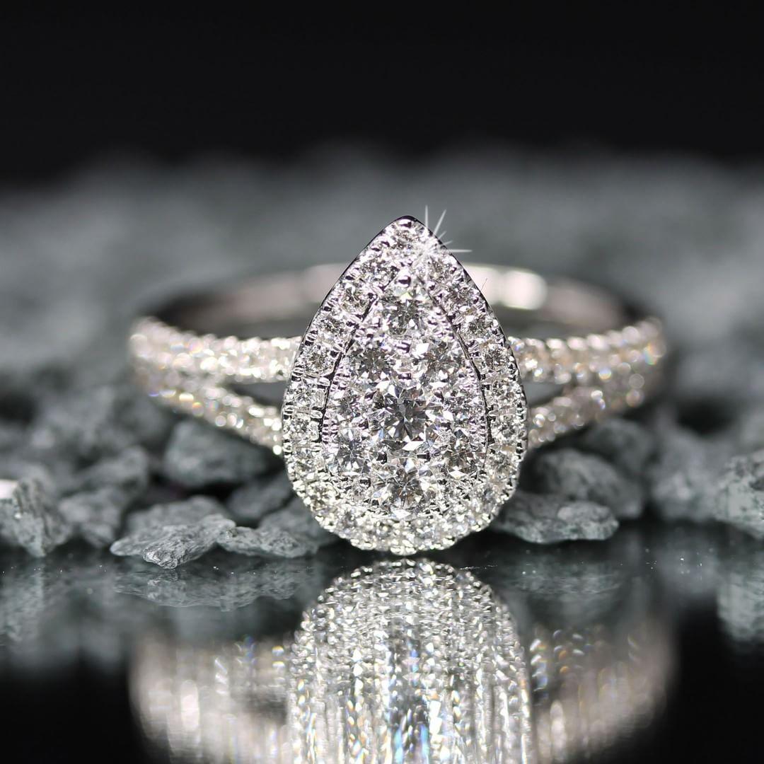 Een Diamanten Ring Kopen Juwelier Di Amore Antwerpen