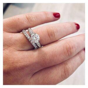 diamanten verlovingsring op maat