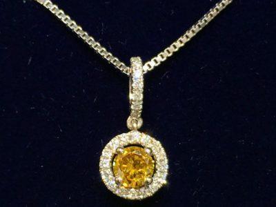 diamanten ketting