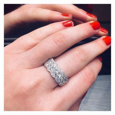 verlovingsring en trouwring