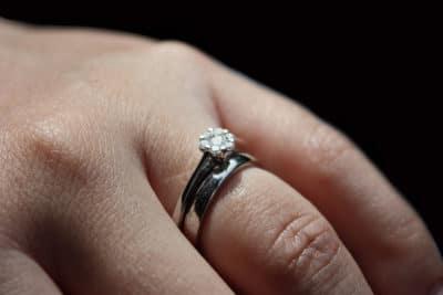 verlovingsring vrouw