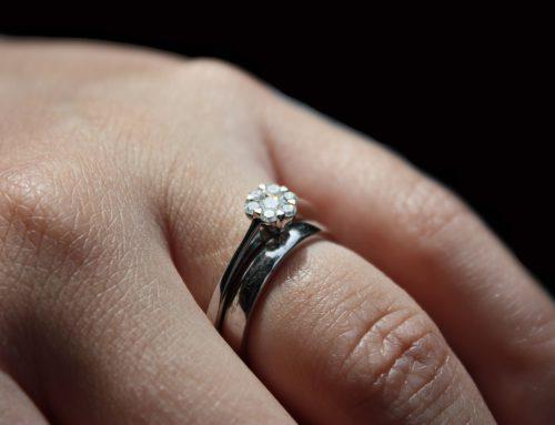 is een verlovingsring alleen voor de vrouw